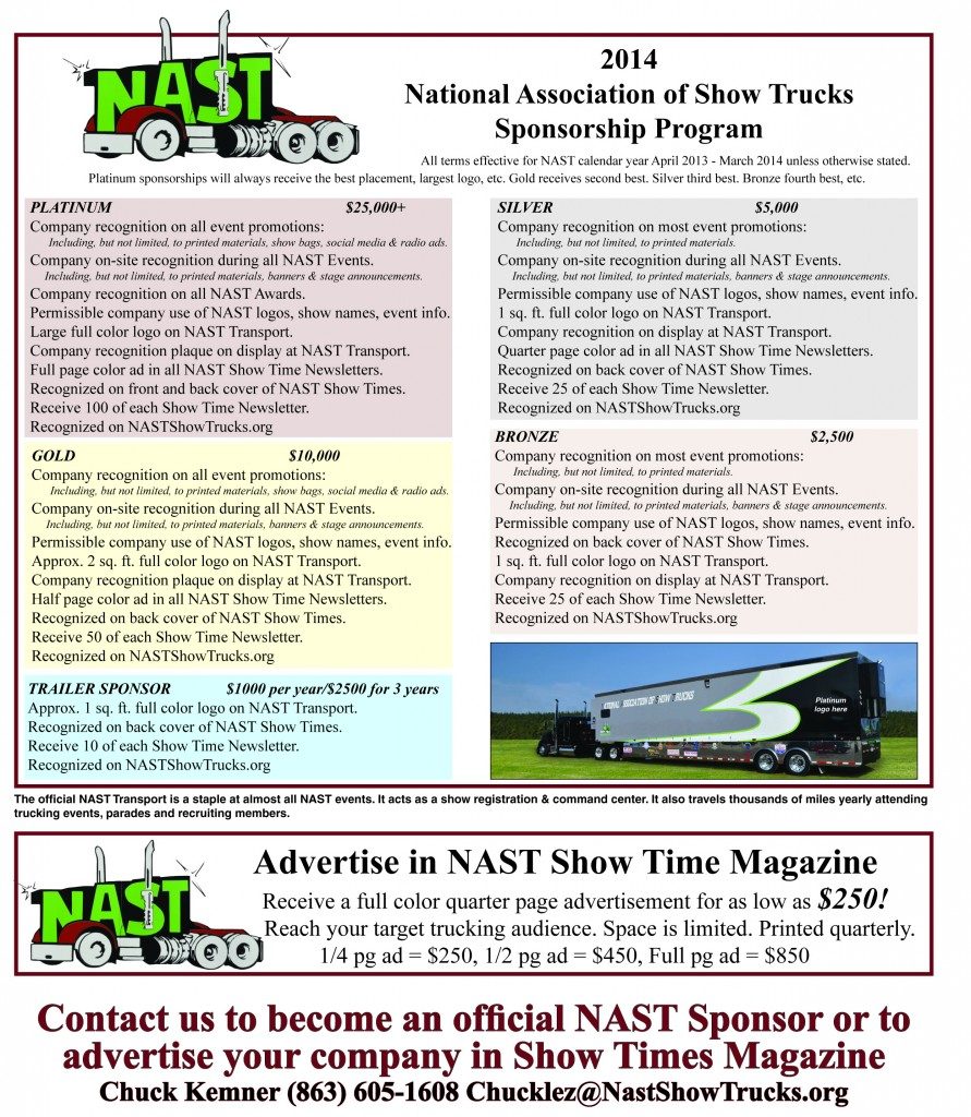 NAST Sponsor or Show Times Ad revised